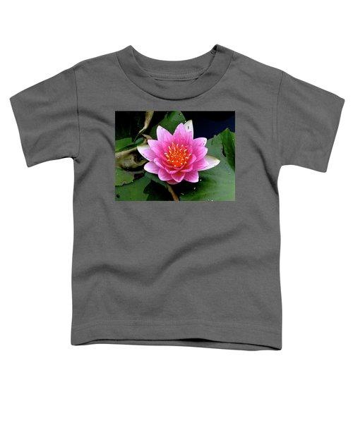Monet Water Lilly Toddler T-Shirt