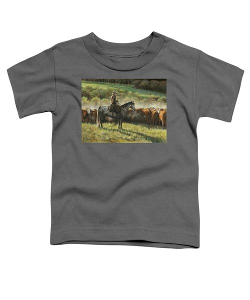 Morning In The Highwoods Toddler T-Shirt