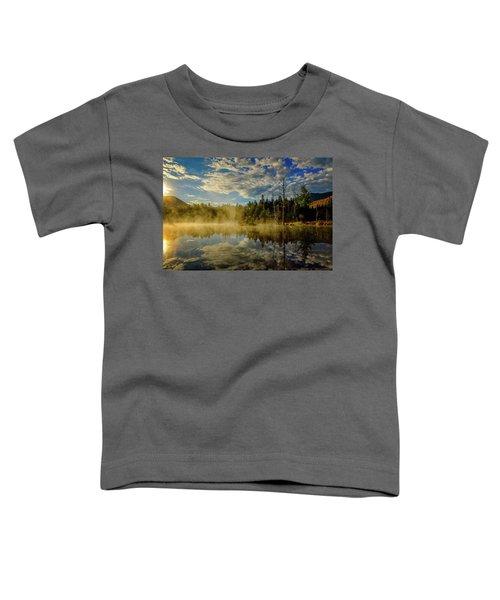 Morning Mist, Wildlife Pond  Toddler T-Shirt