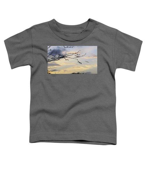 Morning Sky View Toddler T-Shirt