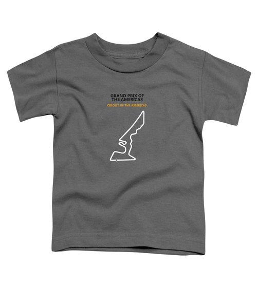 Moto Gp Of The Americas Toddler T-Shirt