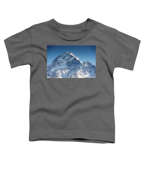 Mount Cook Aoraki Summit Ridge Toddler T-Shirt