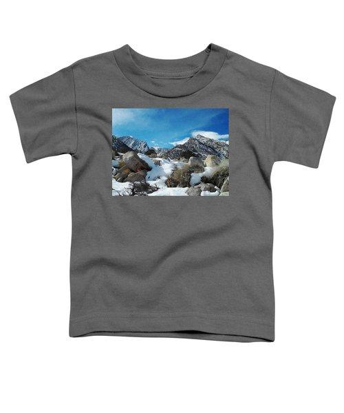 Mount Whitney Vista Toddler T-Shirt