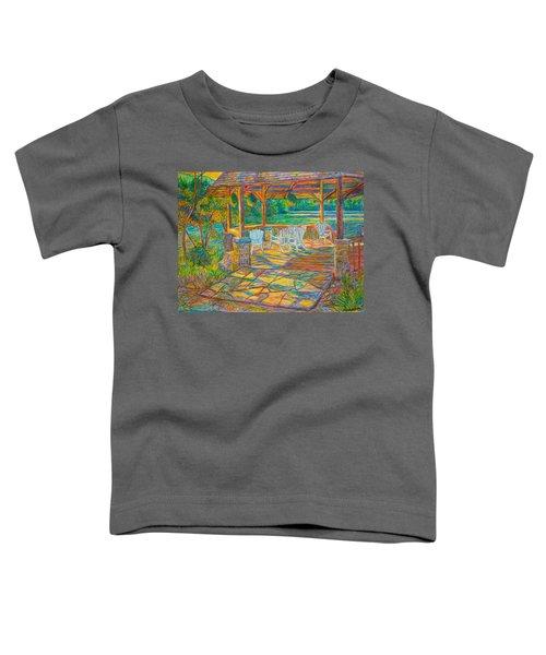 Mountain Lake Shadows Toddler T-Shirt