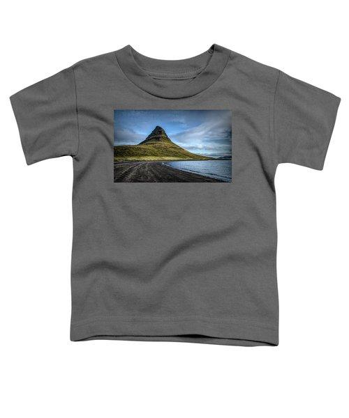 Mt Kirkjufell Toddler T-Shirt