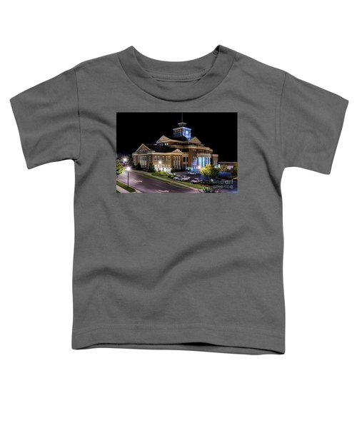 Municipal Center At Night - North Augusta Sc Toddler T-Shirt