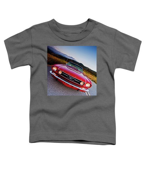 Mustang Convertible Toddler T-Shirt