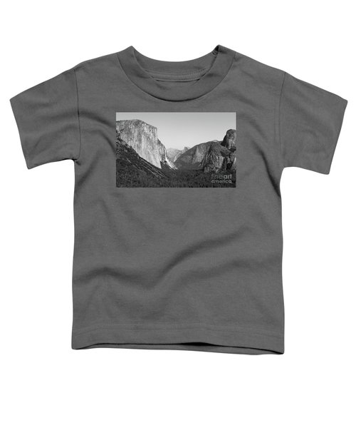 Nature At Its Best - Black-white Toddler T-Shirt