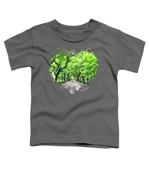 New York City Central Park Mall Toddler T-Shirt