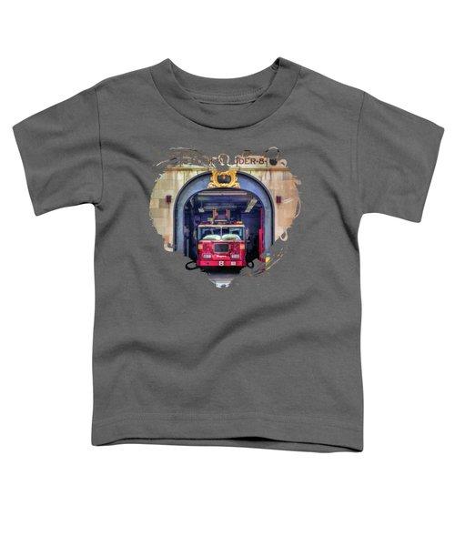 New York City Firehouse Company 8 Toddler T-Shirt