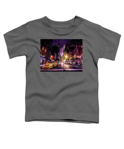 New York City Street Toddler T-Shirt
