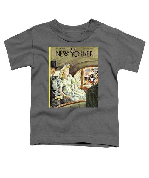 New Yorker June 20th 1942 Toddler T-Shirt