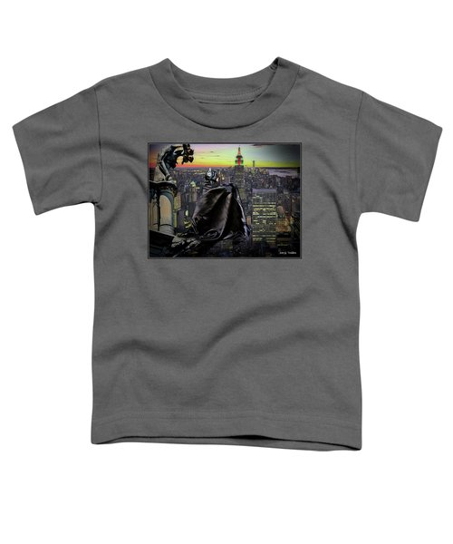 Night Of The Bat Man Toddler T-Shirt