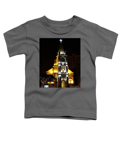 Night View Of The Holy Rosary Cathedral Toddler T-Shirt