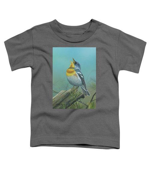 Northern Parula  Toddler T-Shirt