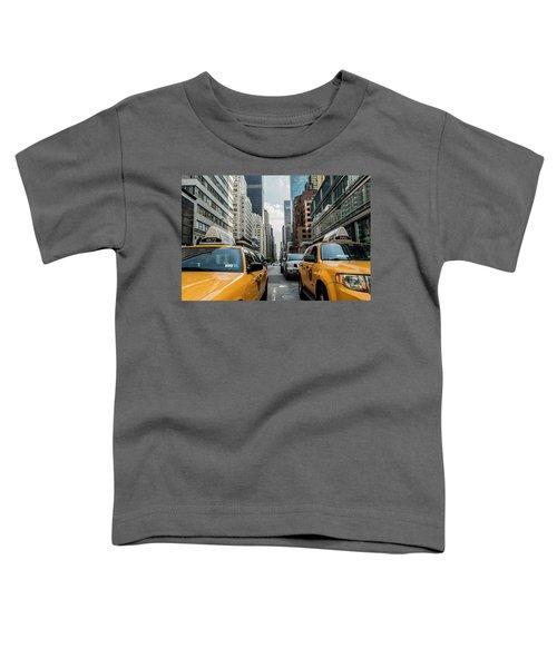 Ny Taxis Toddler T-Shirt