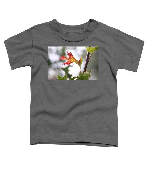 Oak Leaf Turning Toddler T-Shirt