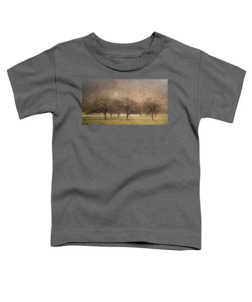 Oak Trees In Fog Toddler T-Shirt