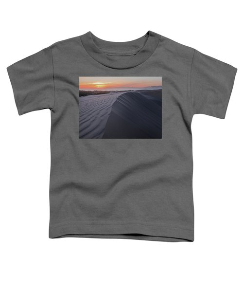 Oceano Dunes Sunset Toddler T-Shirt