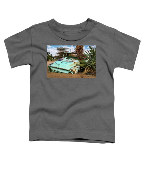 Old And Abandoned Car 2 In Solitaire, Namibia Toddler T-Shirt