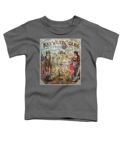 Old Key West Cigars Advertisment Toddler T-Shirt