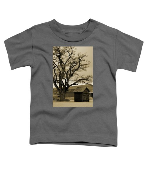 Old Shanty In Sepia Toddler T-Shirt