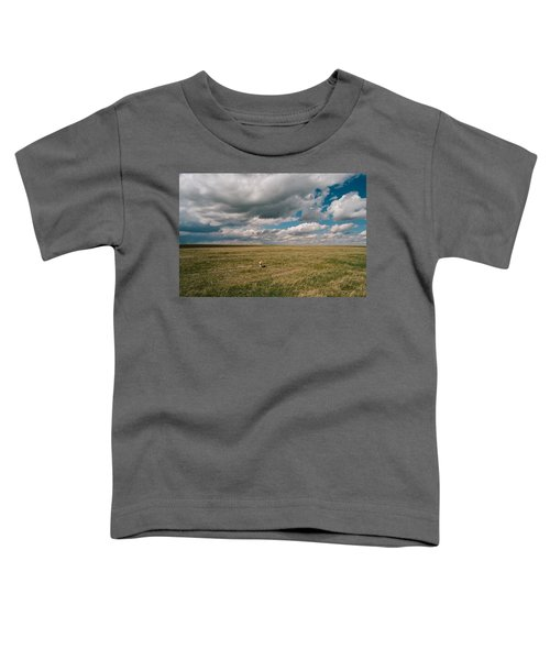 Toddler T-Shirt featuring the photograph One Happy Dog by Carl Young