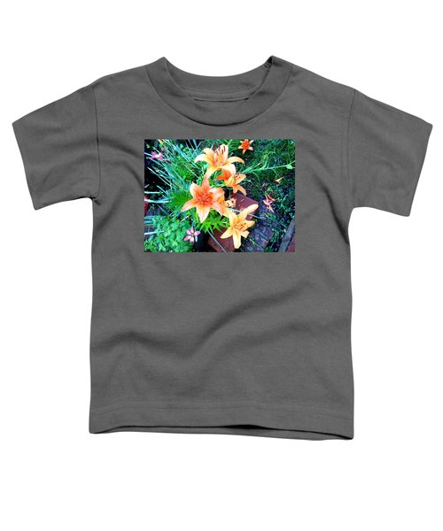 Orange Burst Toddler T-Shirt