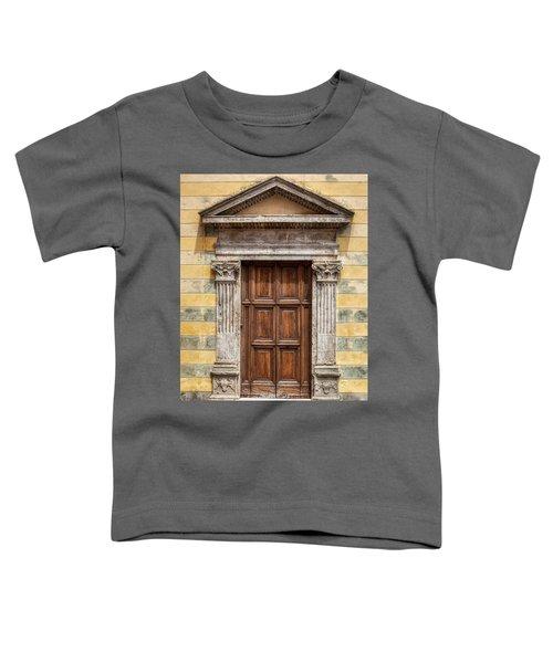 Ornate Door Of Tuscany Toddler T-Shirt
