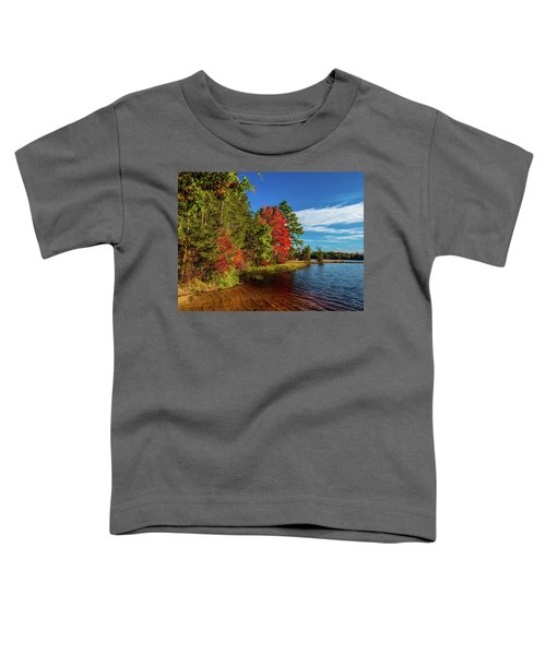 Oswego Lake Pinelands Toddler T-Shirt