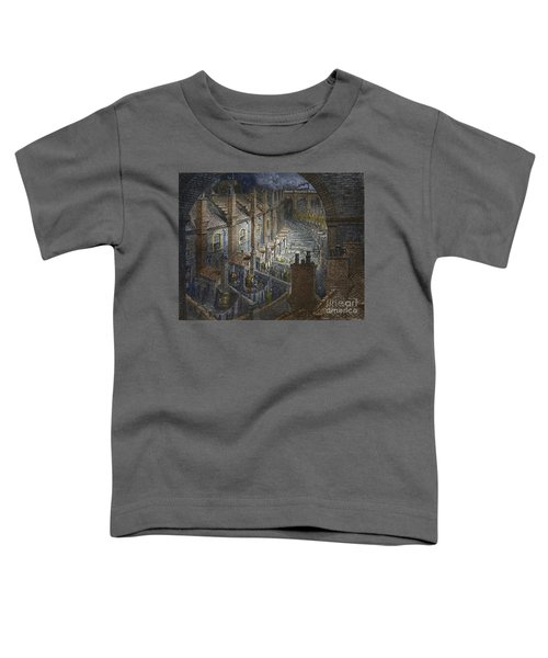 Over London By Rail From London, A Pilgrimage Toddler T-Shirt