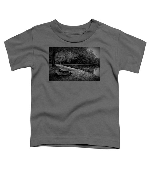 Overlooking The Sugar River Toddler T-Shirt