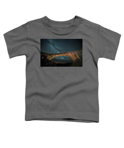 Owachomo Natural Bridge And Milky Way Toddler T-Shirt