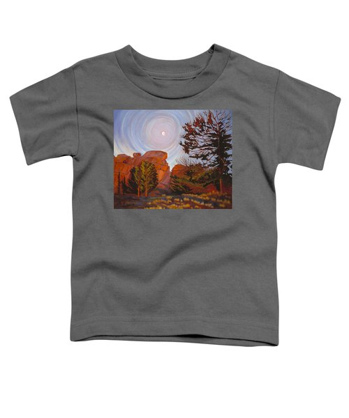 Pale Moon Over Vedauwoo Toddler T-Shirt