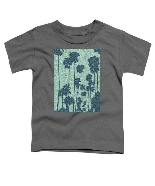 Palms Over Palisades No. 2 Toddler T-Shirt
