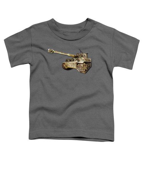 Panzer Vi Tiger Canvas Toddler T-Shirt