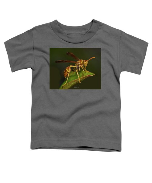 Paper Wasp Toddler T-Shirt