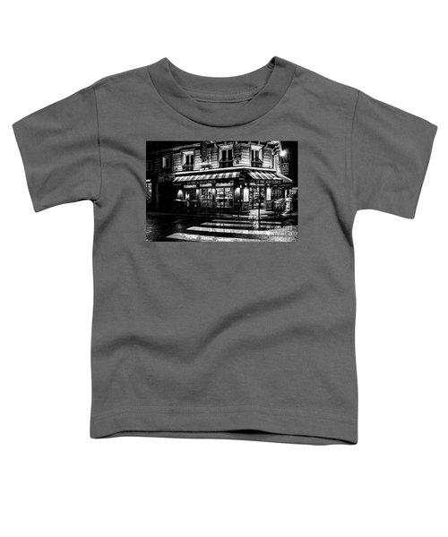 Paris At Night - Rue Bonaparte Toddler T-Shirt