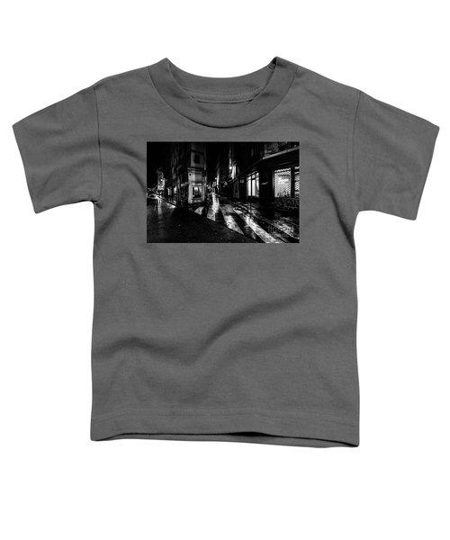 Paris At Night - Rue De Seine Toddler T-Shirt