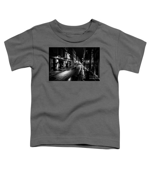 Paris At Night - Rue De Vernueuil Toddler T-Shirt