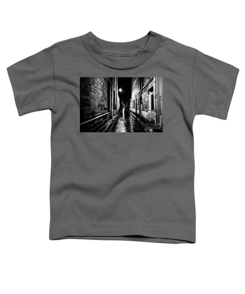 Paris At Night - Rue Visconti Toddler T-Shirt
