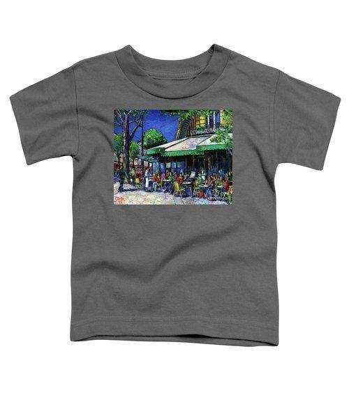 Parisian Cafe Toddler T-Shirt