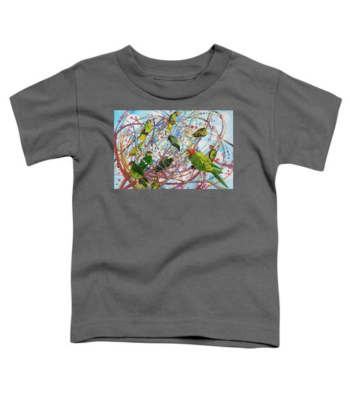 Parrot Bramble Toddler T-Shirt