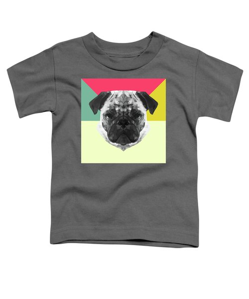 Party Pug Toddler T-Shirt