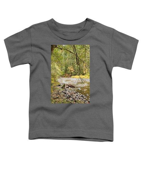 Peaceful Molalla River Toddler T-Shirt