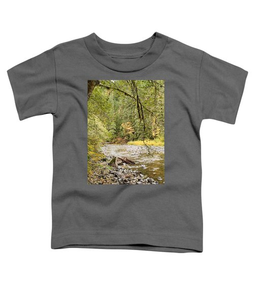 Peaceful Molalla River Toddler T-Shirt