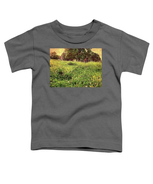 Peaceful Pastoral Perspective Toddler T-Shirt