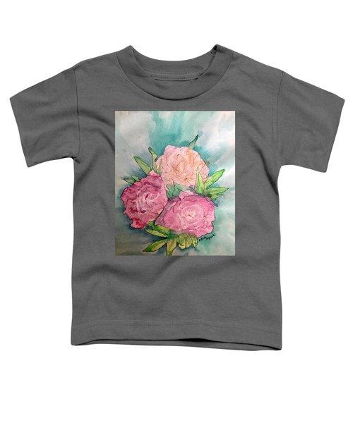 Peonie Roses Toddler T-Shirt