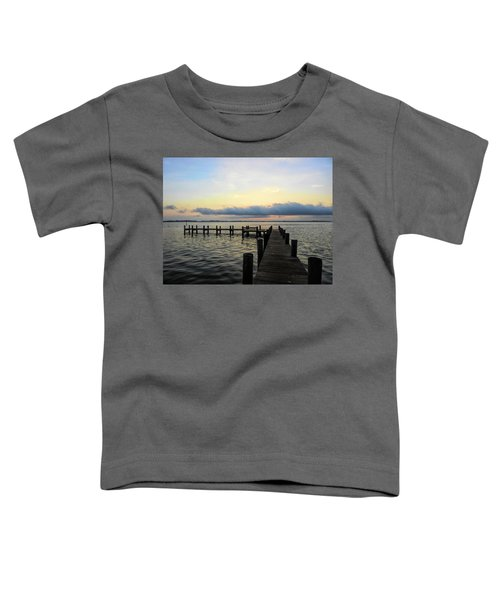Pier Into Morning Toddler T-Shirt