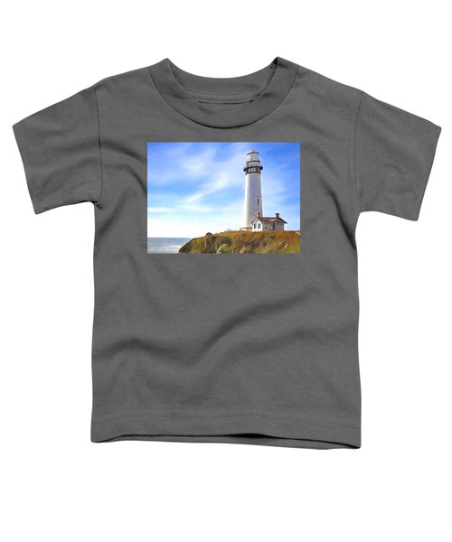 Pigeon Point Lighthouse Ca Toddler T-Shirt